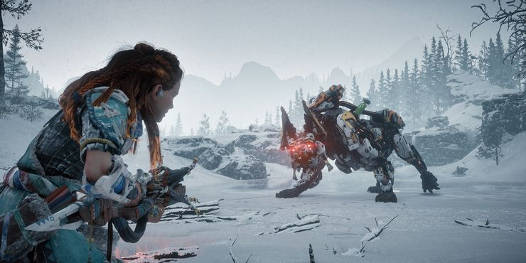 Best selling Playstation games: Horizon Zero Dawn